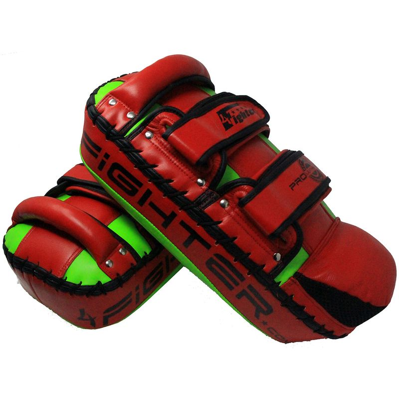 4Fighter PAO Leather red green  – image 2