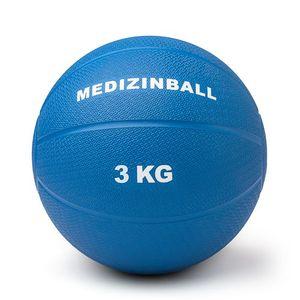 Medizinball 3 kg Gummi  Ø 23 cm