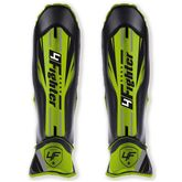 4Fighter Arrow Shinguard PU Muay Thai Kickboxing black green