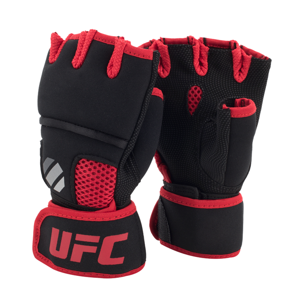 UFC Contender Quick Wrap Inner Glove with EVA Knuckle black/red