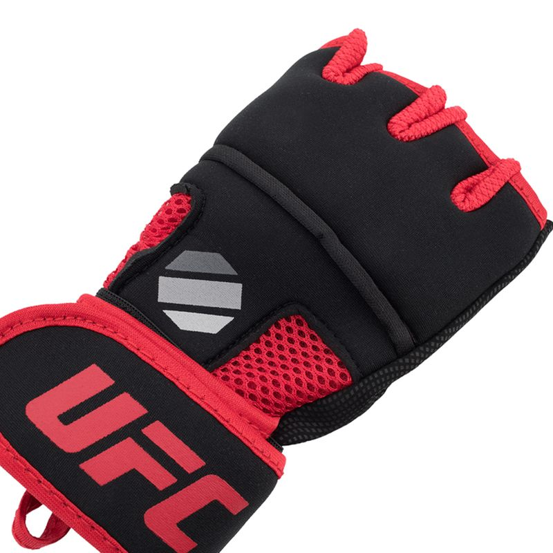 UFC Contender Quick Wrap Inner Gloves with EVA Knuckle black / red – image 3