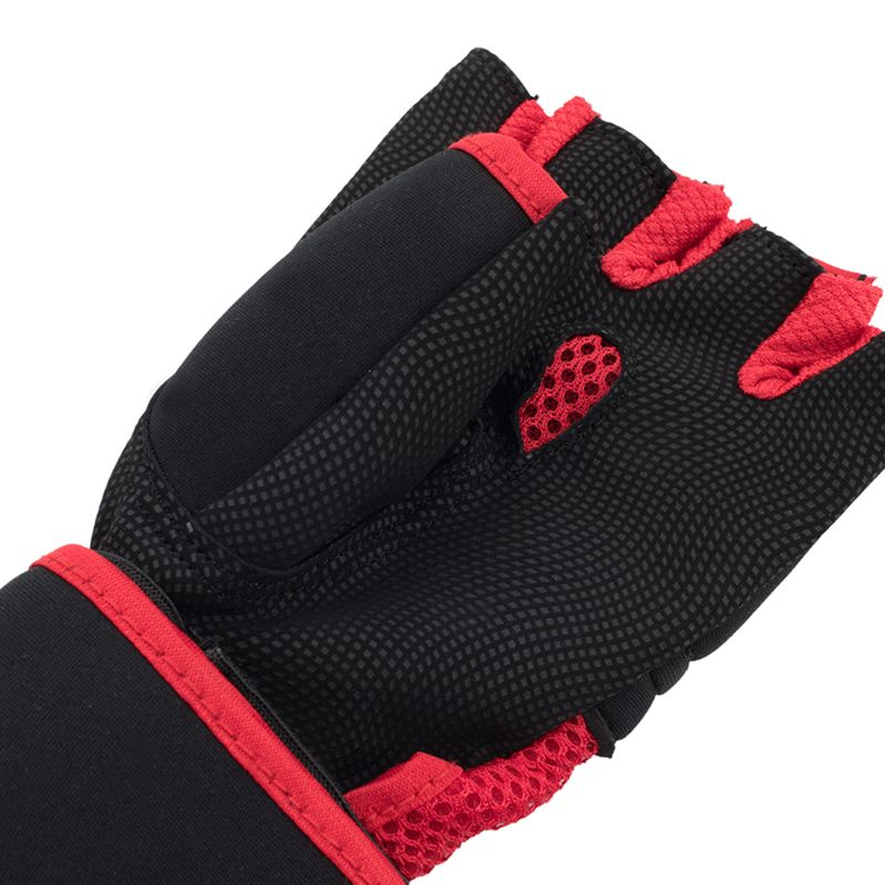 UFC Contender Quick Wrap Inner Gloves with EVA Knuckle black / red – image 4