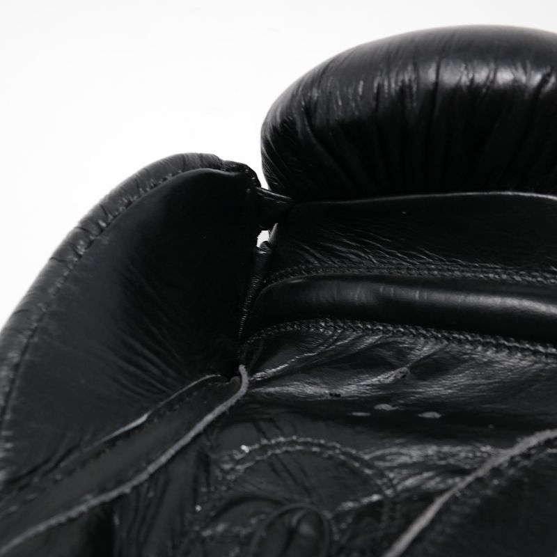 Pro Arrow Leather Boxing Glove grey black – image 5