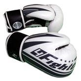 Pro Arrow Leather Boxing Glove white black