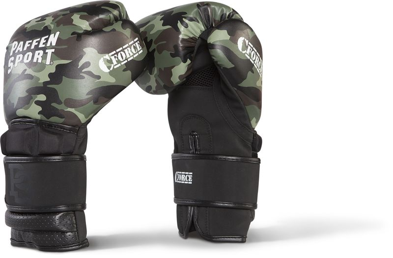 Paffen Sport C-Force boxing gloves training Black camouflage