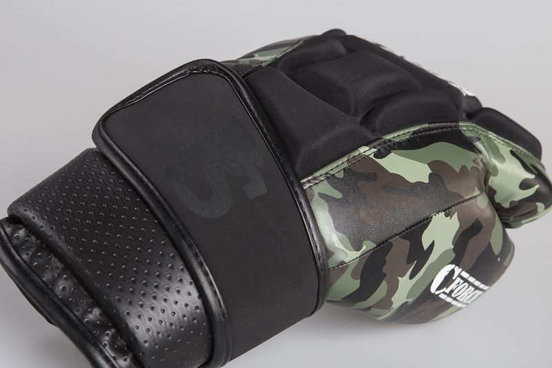 Paffen Sport C-Force punching bag gloves camouflage black – image 2