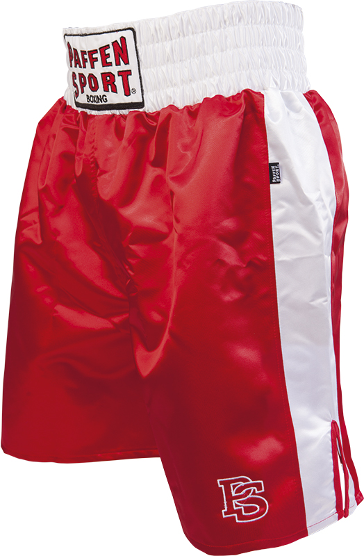 "Paffen-Sport ""Pro"" boxing shorts red white"