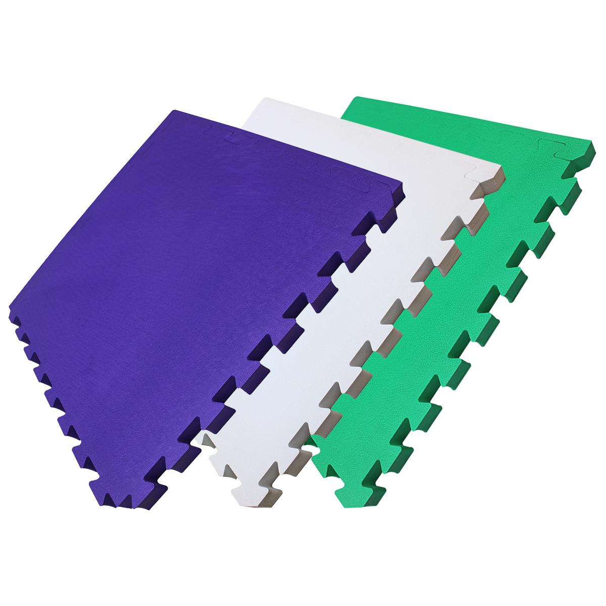4Fighter Extrasoft Kinder-Spielmatte Puzzlematte Steckmatte 53 x 53 x 3cm