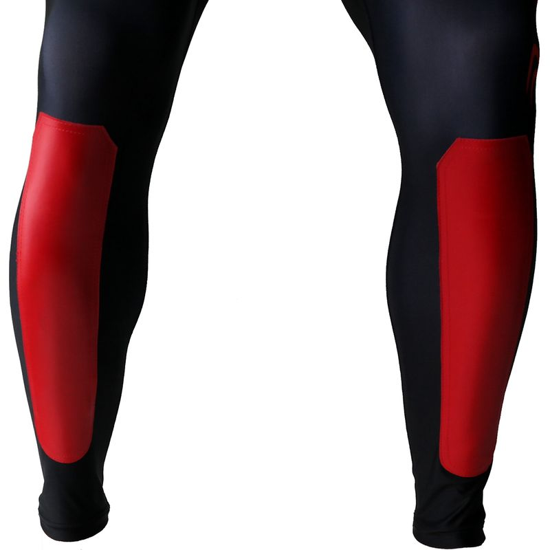 4Fighter MMA Compression long shorts red Dragon – image 6