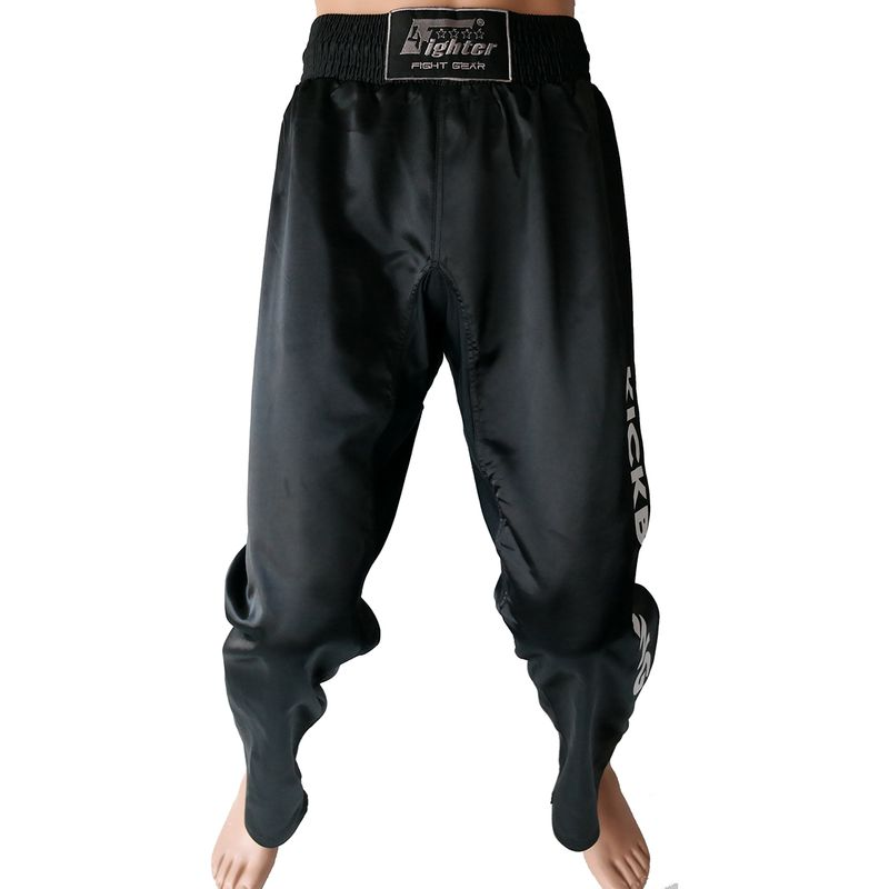4Fighter negro kickboxing full contact pants negro – Bild 3