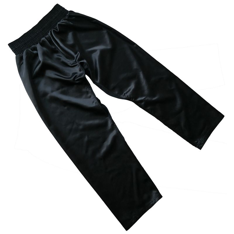 4Fighter negro kickboxing full contact pants negro – Bild 2