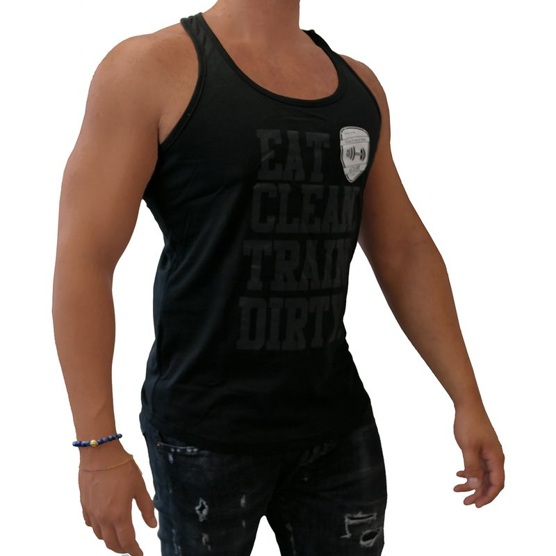 4Fighter Gym Tank Top black  – Bild 5