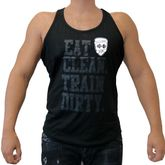 4Fighter Gym Tank Top negro