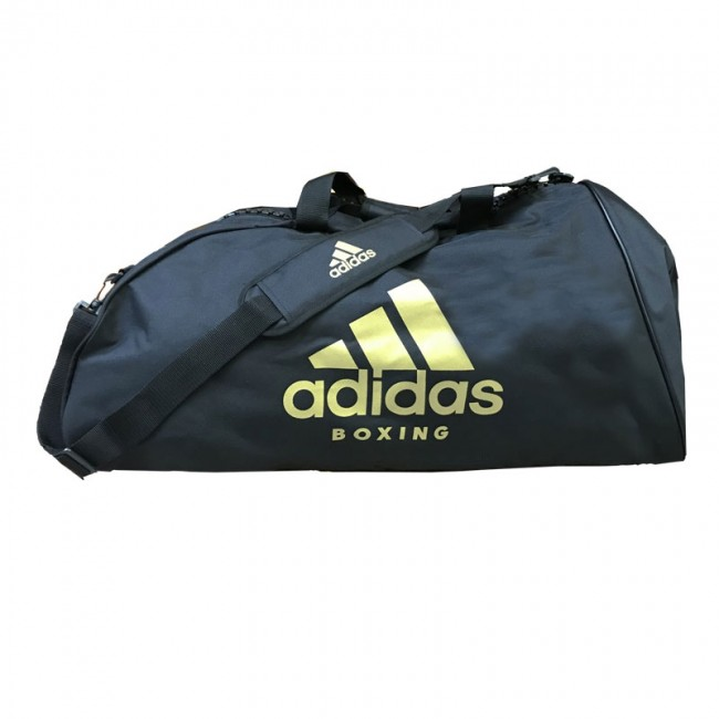 Adidas Sports Bag Shoulder Strap L Black Gold – image 1
