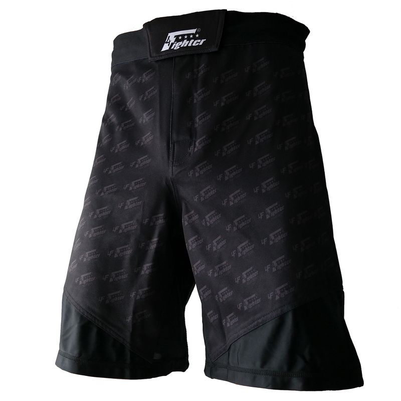 4Fighter MMA Shorts Undercover Black – Bild 1