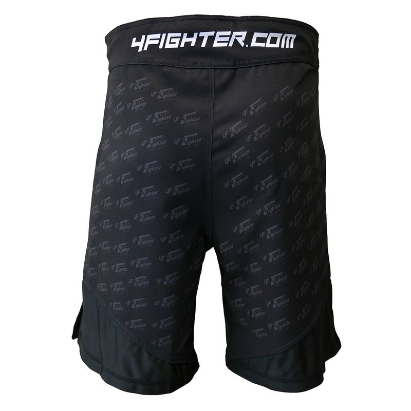4Fighter MMA Shorts Undercover Black – Bild 4