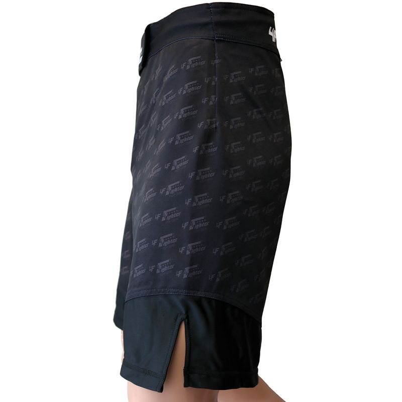 4Fighter MMA Shorts Undercover Black – Bild 2