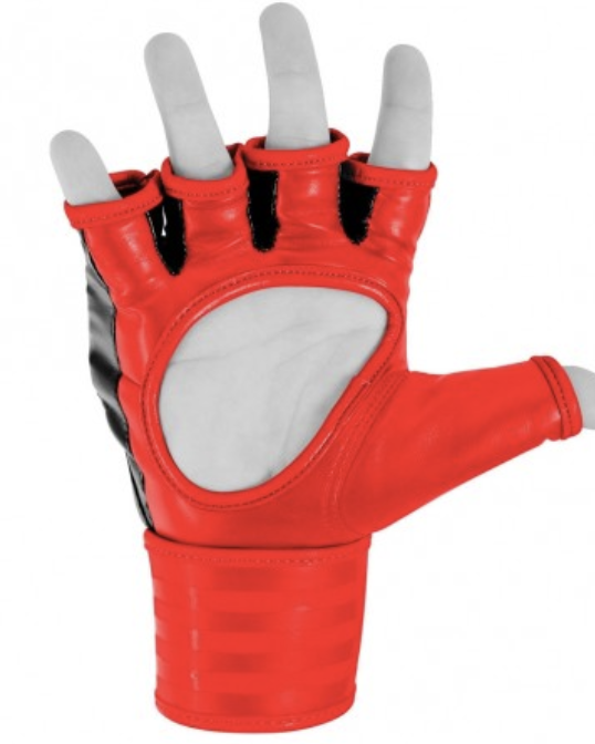 Adidas TRADITIONAL Grappling Glove rojo negro – Bild 2