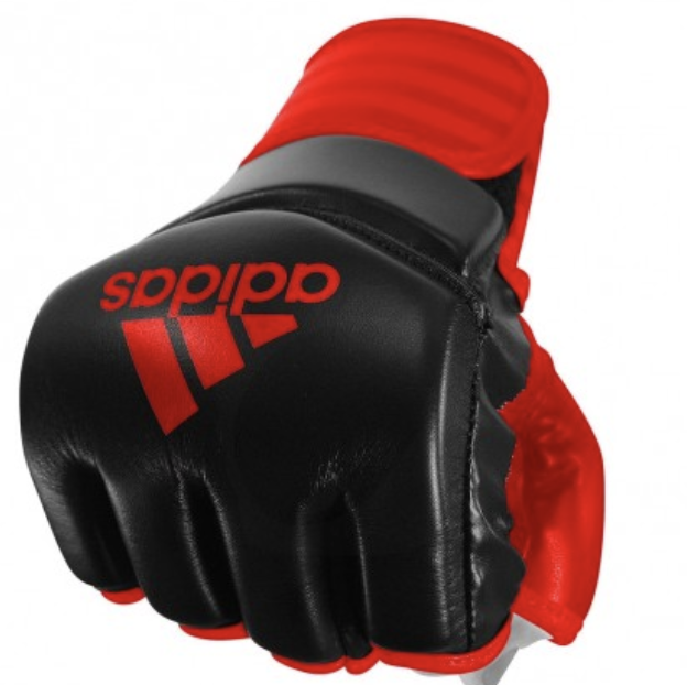 Adidas TRADITIONAL Grappling Glove rojo negro – Bild 1