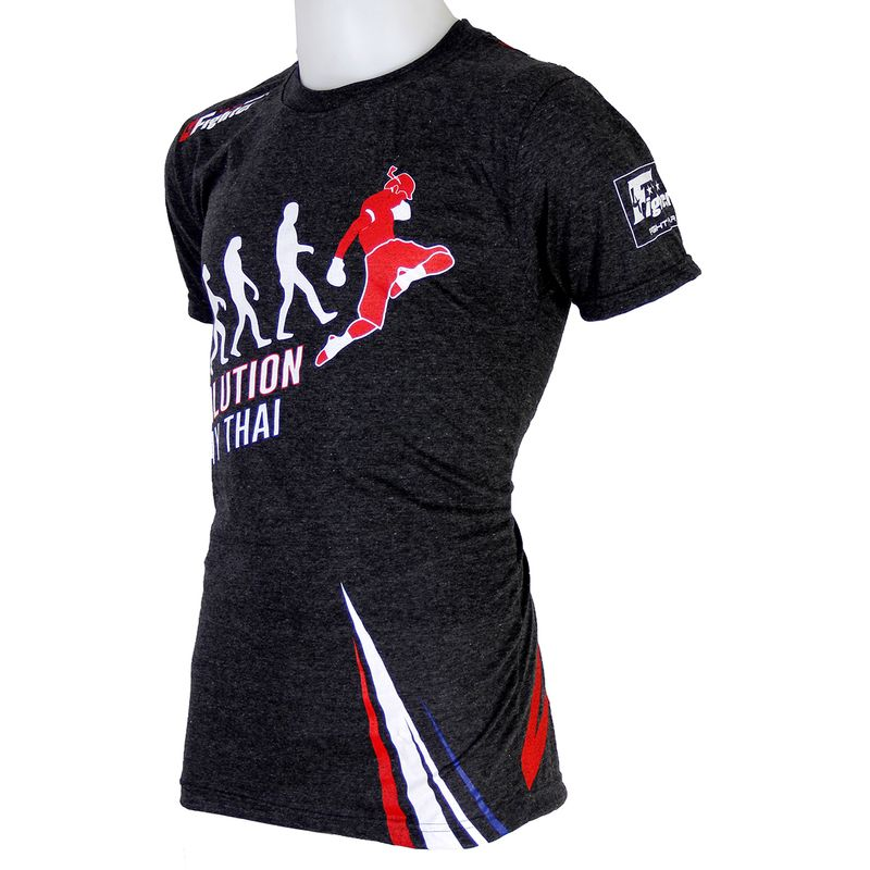 4FT Evolution Muay Thai camiseta gris – Bild 4