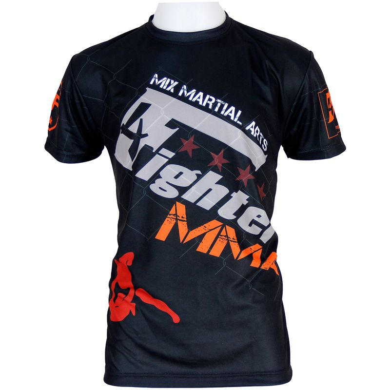 Camiseta 4fighter MMA  Fight Team sublimación completa lucha libre – Bild 1