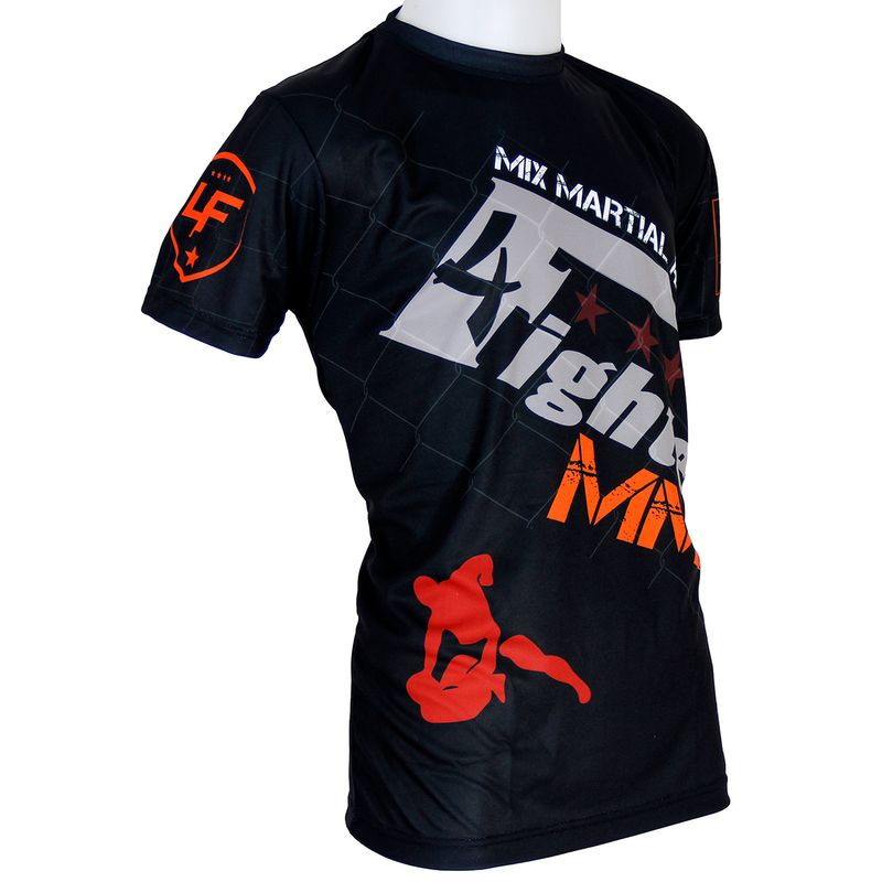 Camiseta 4fighter MMA  Fight Team sublimación completa lucha libre – Bild 4