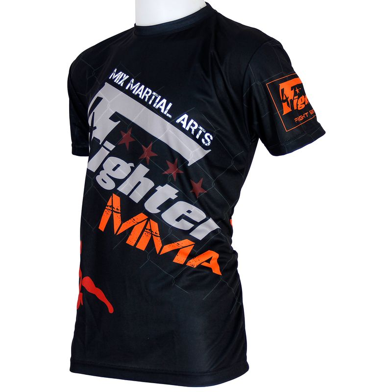 Camiseta 4fighter MMA  Fight Team sublimación completa lucha libre – Bild 3