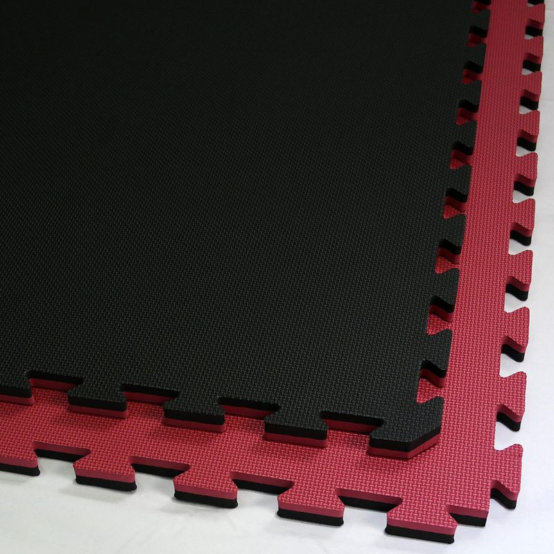 4Fighter 2cm martial arts mat DOUBLE CROSS red-black – image 5