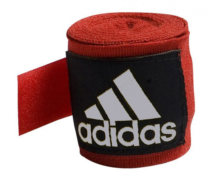 Adidas Hand Wraps 5.7 cm x 4.5 m in red according to the new AIBA Guidelines
