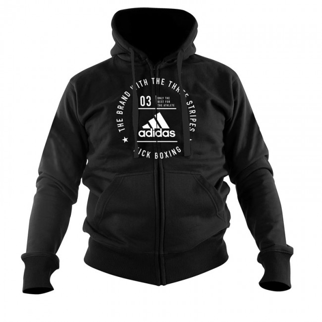 "Adidas Community Jacket ""KICKBOXING"" black / white"