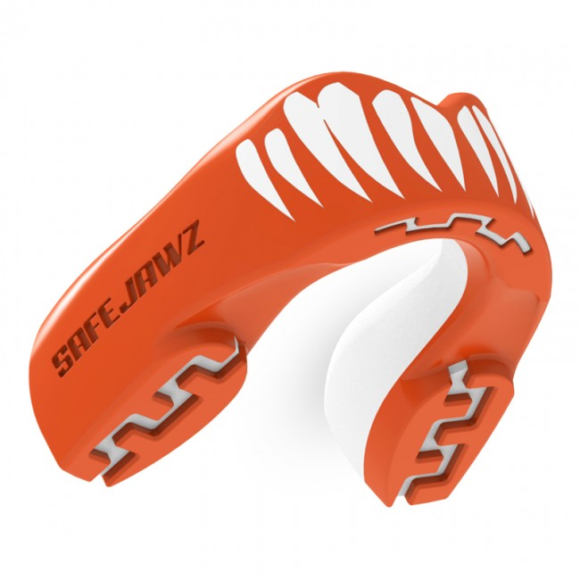 Safejawz Mouthguard Extro-Series Viper Rojo / Blanco Senior