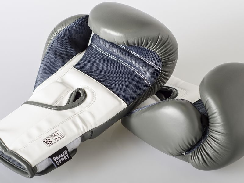 Paffen-Sport Fit Boxing Gloves for training white 10-16Oz – image 2
