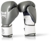 Paffen-Sport Fit Boxing Gloves for training grey-white 10-16Oz 001