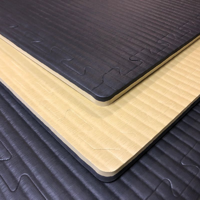 4Fighter 2cm martial arts mat DOUBLE TATAMI gold-black – image 9
