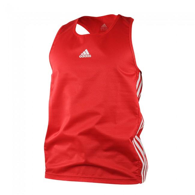 Adidas Boxing Top Rojo Aiba Boxer Shirt Tank Top – Bild 1