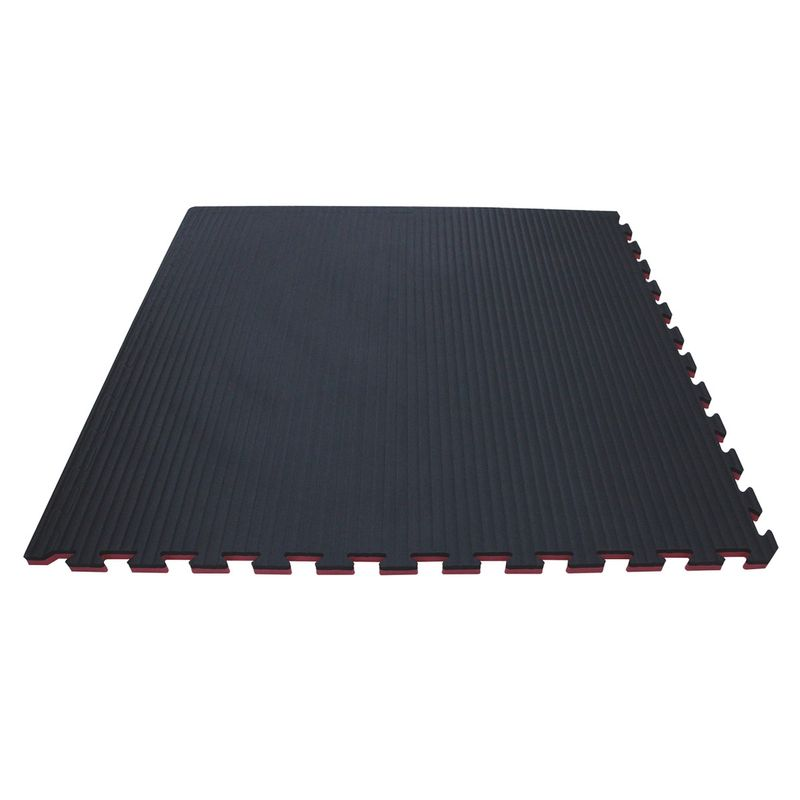 4Fighter 2cm martial arts mat DOUBLE TATAMI cherryred-black – image 3