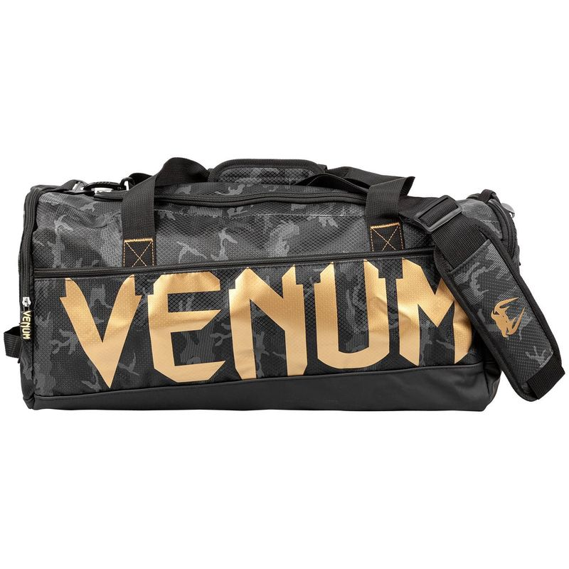 VENUM SPARRING SPORT BAG BLACK / GOLD – image 1