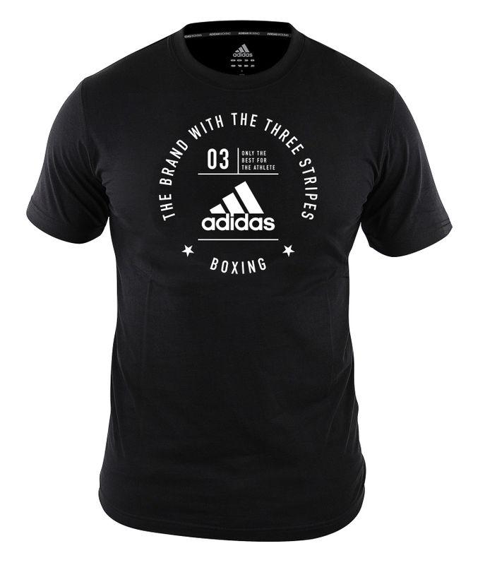 "adidas Community T-Shirt ""Boxing"" schwarz"