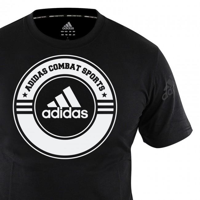 adidas T-Shirt Combat Sports schwarz – Bild 2