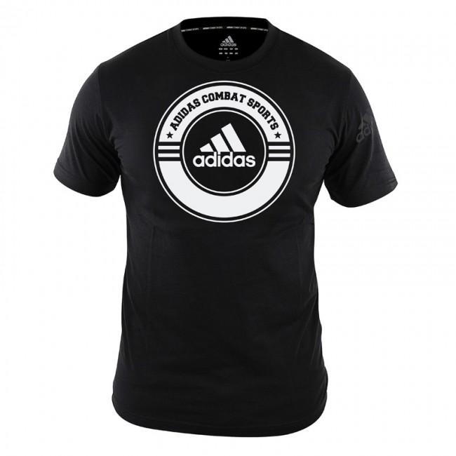 adidas T-Shirt Combat Sports schwarz – Bild 1