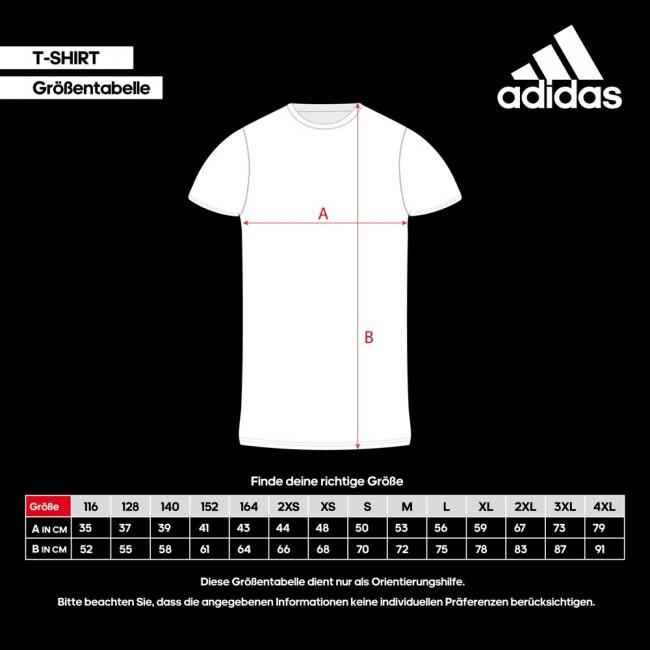 adidas T-Shirt Combat Sports negro – Bild 3