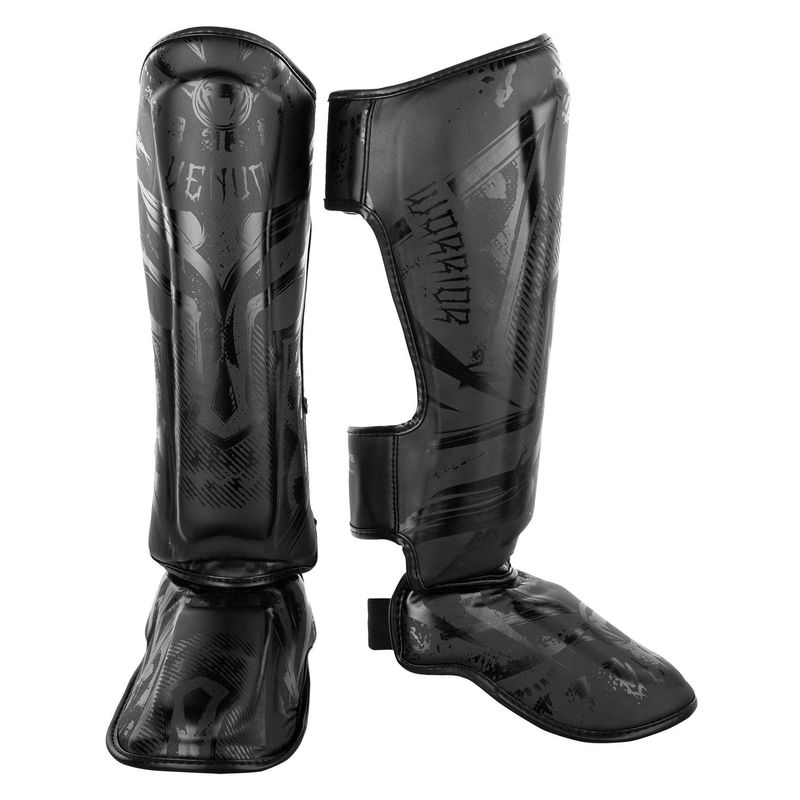 Venum Gladiator 3.0 Shin Guard black black – Bild 1