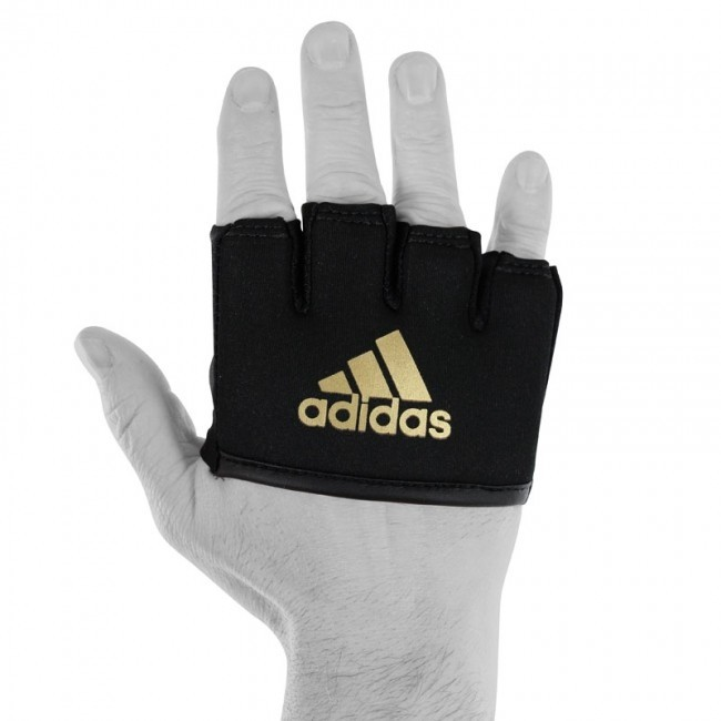 adidas Knuckle Sleeve black gold one size
