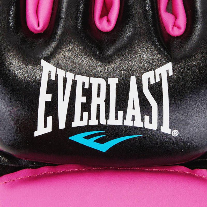 Everlast Everstrike MMA Grappling Gloves Closed Thumb - Synthetic Leather in Black / Pink – image 4