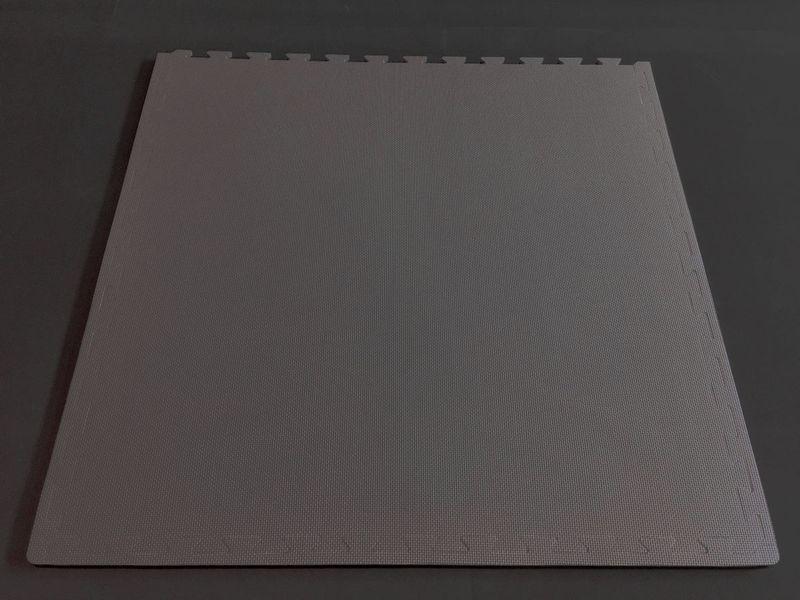 4Fighter Cross  Matte Bodenschutzmatte grau 100 x 100 x 1 cm B-Ware