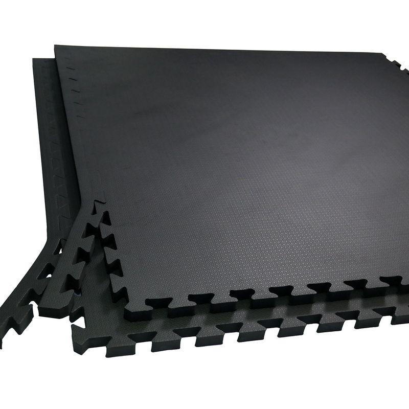 4Fighter 2cm Kampfsportmatte schwarz grau Circle / Zweite Wahl – Bild 1