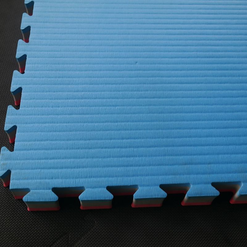 4Fighter 2cm martial arts mat DOUBLE TATAMI blue-red – image 5