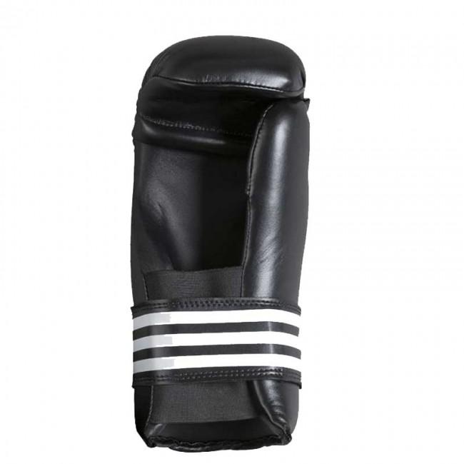 adidas Semi Contact Gloves schwarz weiß Größe L – Bild 2