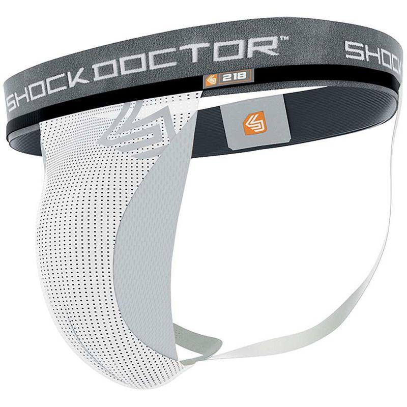 Shock Doctor Core Supporter mit Cup Pocket - Weiß