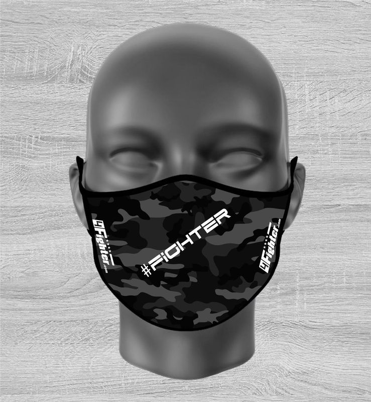 4Fighter Fashion Mask Camo #Fighter